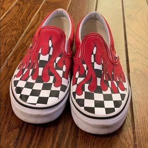 Vans Checkered With Fake Blood Dripping